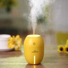 创意柠檬加湿器 迷你USB加湿器卧室静音小型桌面车载香薰器