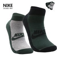 Nike耐克袜子2016春秋新款男袜针织短筒休闲袜两双装运动袜SX5481-904