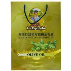 【超级生活馆】★莱瑞初榨橄榄油礼盒1L*2(编码:323903)