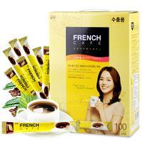 韩国进口 南洋法式三合一速溶咖啡 100条礼盒装
