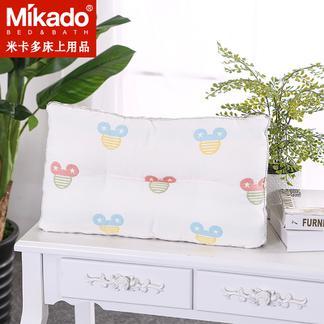 米卡多婴儿枕0-1-5岁防多汗新生儿童枕头宝宝学生幼儿偏头矫正枕