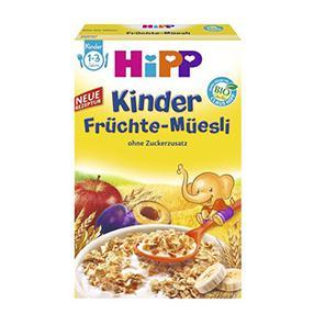 【德国直邮】Hipp 喜宝有机水果谷物营养麦片1-3岁 200g