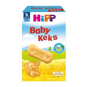 【德国直邮】 Hipp 喜宝有机高钙婴儿磨牙饼干150g 8个月以上