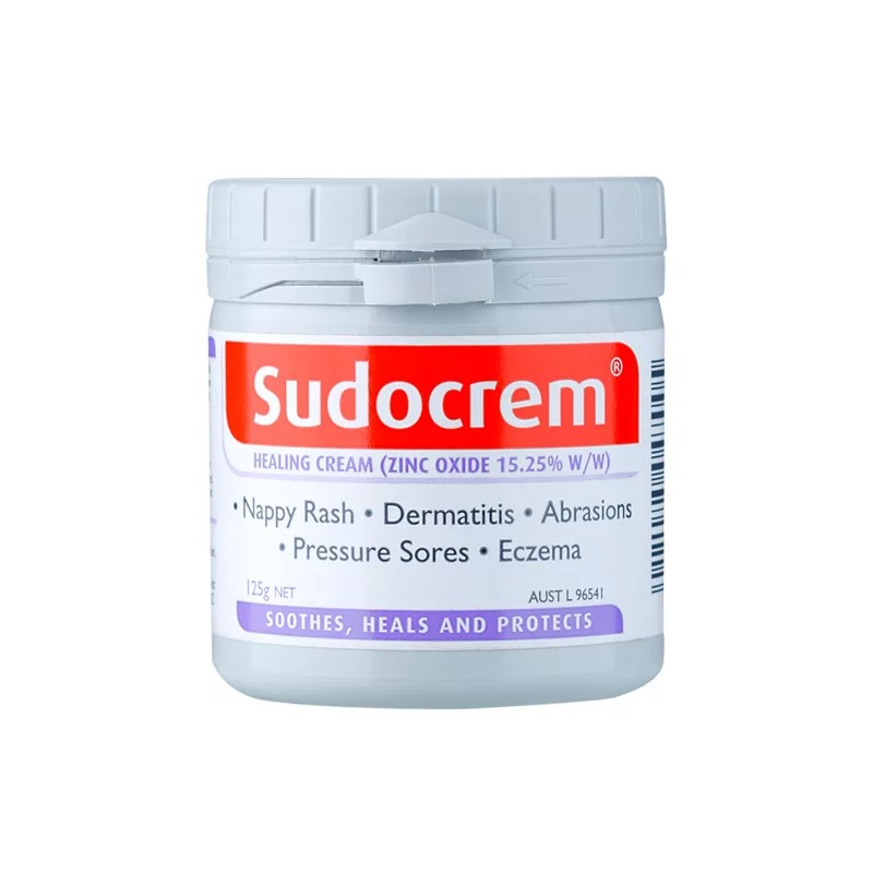 Sudocrem屁屁霜125g 护臀膏舒缓尿布疹湿疹褥疮 清洁面膜