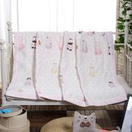 纯棉纱布夏凉被空调被全棉夏被可水洗棉花被子