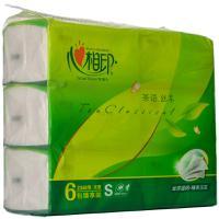 【超级生活馆】心相印茶语丝享系列130抽*6三层塑装纸面巾(编码:582549)