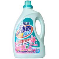 【超级生活馆】花王洁霸瞬清无磷洗衣液(恬静百合香)瓶装3千克(编码:585718)