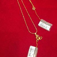 明牌黄金项链