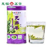 天福茗茶 龙井茶叶 浙江高山特级绿茶 2017年早春茶100克罐装