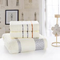 花果果 长城格套巾 纯棉织造 吸水强 简约时尚