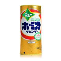 日本 花王泡沫去污粉 强力去除顽固油污茶渍糊焦渍铁锈水垢 400g