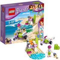 LEGO乐高  Friends好朋友系列米娅的沙滩摩托车41306积木