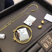 金至尊足金项链饰品
