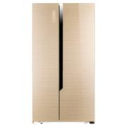 海信(Hisense) BCD-648WTGVBPI 648立升 对开门 冰箱 时尚外观 律动金