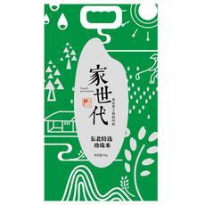 楚农家家世代珍珠米5kg 粳米 东北米 大米