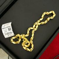 明牌 黄金项链