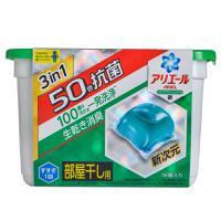 【超级生活馆】宝洁P&G2倍杀菌消臭洗衣球啫喱凝珠球绿色4(编码:585290)