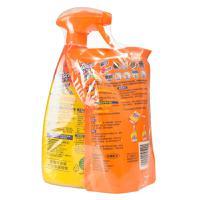 【岳家嘴店】威猛先生厨房重油污净补充装双包装(柠檬)500g+420g(6901586105001Y)