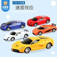 两通遥控车仿真遥控模型车1:24儿童玩具赛车漂移电动玩具车子
