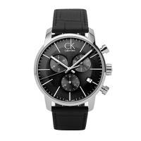 CK手表 CalvinKlein手表 CITY系列夜光日历石英男表K2G271C3