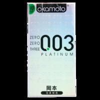 冈本OK避孕套003 (0.03白金系列)安全套10只