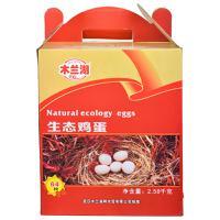 【天顺园店】木兰湖64枚生态鸡蛋礼盒64枚(编码:288889)