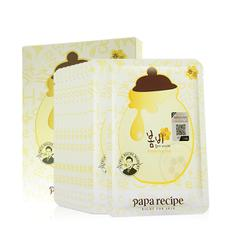 韩国 Papa recipe 春雨 蜂蜜补水保湿面膜 10片装/盒  25ml/片