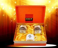 同仁堂西洋参切片80g*2瓶礼盒装西洋参片+礼品袋 节日礼品 送礼有面子 包装精美