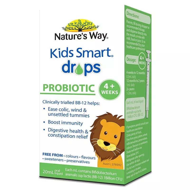 【澳洲直邮 包税包邮】Nature's Way 佳思敏儿童儿童益生菌滴剂 20ml
