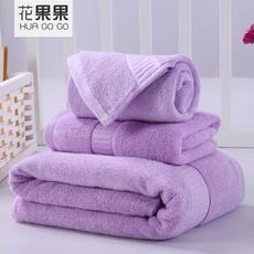 花果果 西班牙彩虹系列毛巾浴巾三件套 竹纤维 2017新品