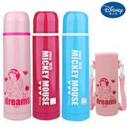 【包邮】迪士尼Disney-不锈钢保温杯500毫升男女儿童水壶送杯套