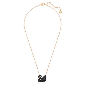 【德国直邮】[预订款] Swarovski施华洛世奇黑色小天鹅项链 5204133