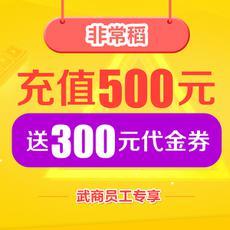 非常稻  预存500元送300元券【员工券专场】