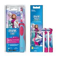 【德国直邮】博朗ORAL-B 冰雪奇缘儿童电动牙刷1支+电动牙刷刷头2支装