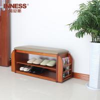 英尼斯 欧式床尾凳实木储物凳卧室鞋凳沙发凳创意床榻凳子床头凳  ST9829