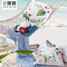 花果果 炫彩时尚艺术抱枕  点亮您的诗意生活