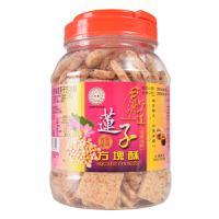 【春节团购】好乔牌台湾好味道莲子方块酥500g