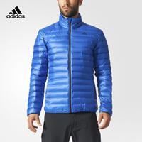 adidas 阿迪达斯 户外 男子 羽绒茄克 学院蓝 BQ7779