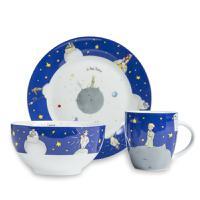 德国原产KOENITZ酷尼子法语版小王子杯碟碗餐具三件套
