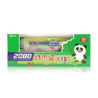 2080 儿童牙膏特惠装(苹果味)(长期供货)X4
