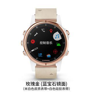 【国广武商网315】GARMIN/佳明 fenix 5S Plus手表 玫瑰金