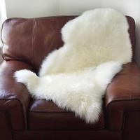 澳世家 羊毛皮皮形 包布白单皮 55*95cm