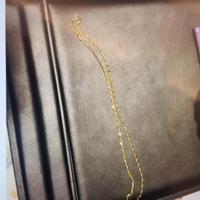 千叶K金项链