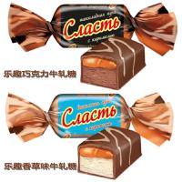 俄罗斯进口斯拉夫人乐趣巧克力味 香草味士力架1000克