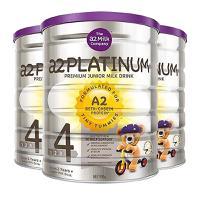 【3罐装】【澳洲直邮 包税包邮】A2 PLATINUM儿童配方奶粉4段3岁以上 900g