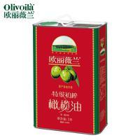 欧丽薇兰特级初榨橄榄油3L 铁罐装红标