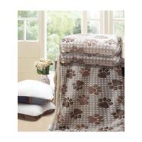 宜庭 羊羔绒柔绒毯 EN012  200*230cm