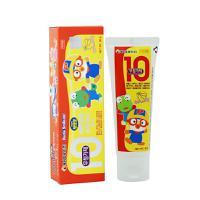 保税区直发 韩国Pororo宝露露小企鹅香蕉味婴幼儿牙膏 80g