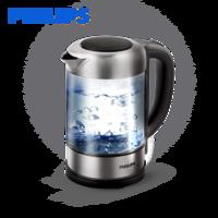 Philips/飞利浦 HD9342/08电热水壶开水壶304不锈钢德国进口玻璃