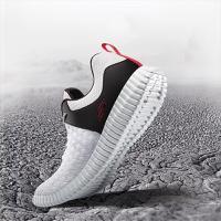 Skechers斯凯奇男鞋新款编织轻质透气运动鞋 减震休闲鞋 52864 白色